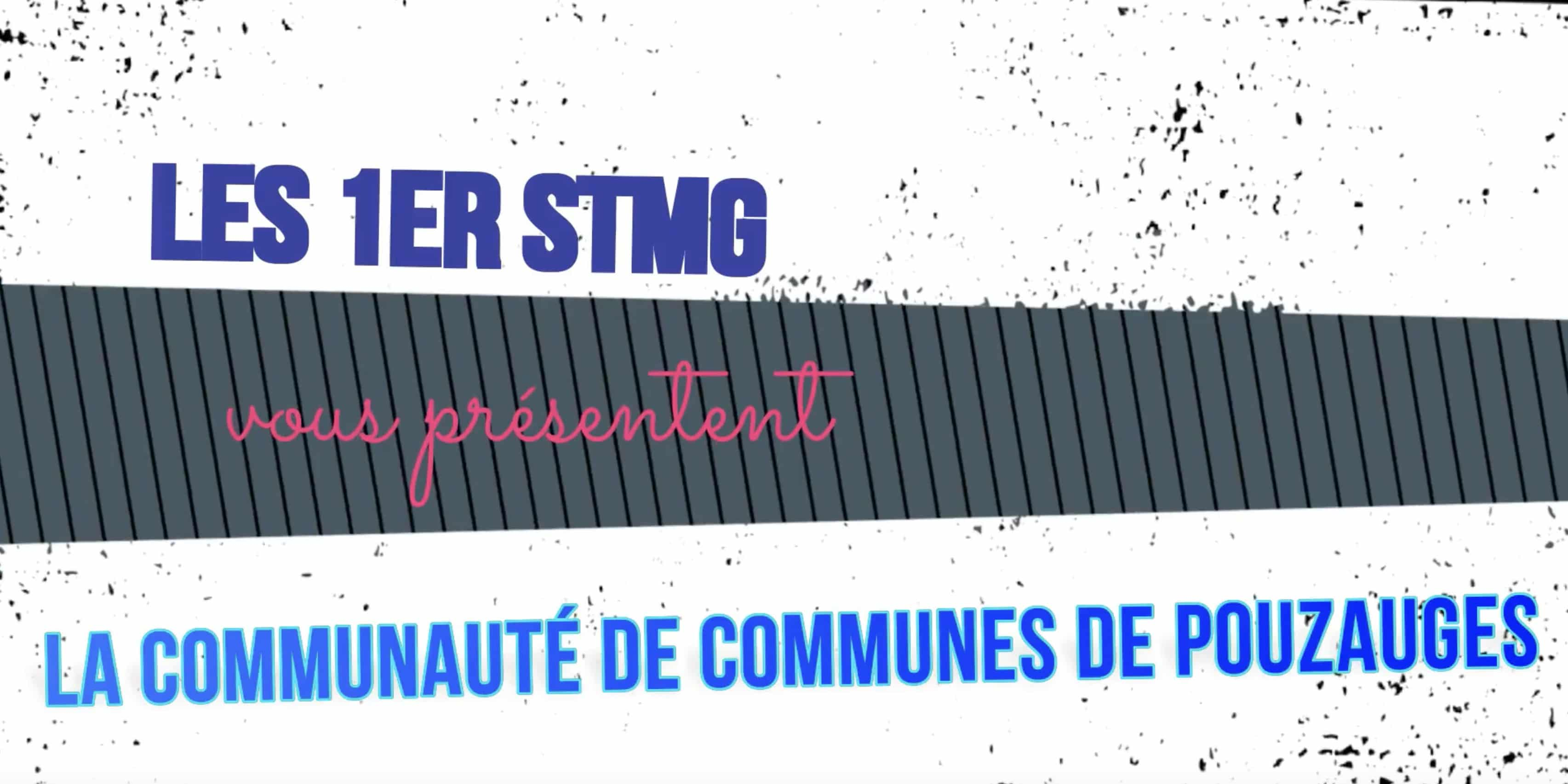 Les 1re STMG réalisent un reportage sur la communauté de communes de Pouzauges