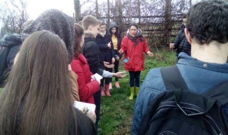Visite de fermes biologiques en seconde