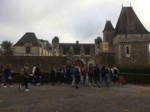 élèves en sortie à Nantes