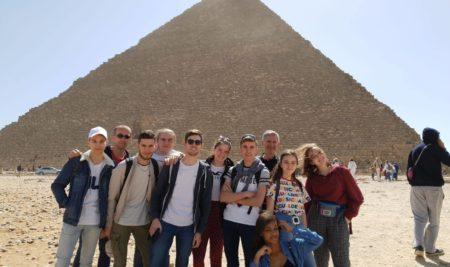 Les élèves de terminales au festival de théâtre du Caire