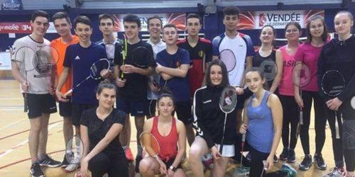 badminton équipe