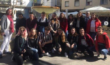 15 élèves en voyage à Cadix