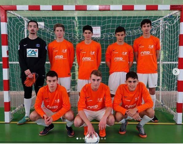 L'équipe de futsall